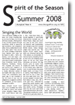 Cover of SOS Summer 08